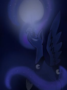 The beauty of the night by Chica829