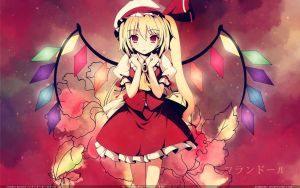 Flandre Scarlet Wallpaper by Roberto-Miak
