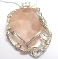 Pink Maine Sea Glass by sojourncuriosities