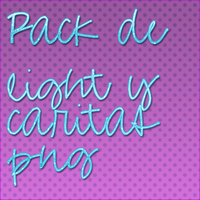 Pack png de lights y caritas by YoahEdition