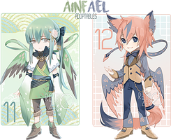 [CLOSED] Ainfael auction 11-12 by retrozero