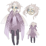 Moth Girl by AntiqueLS