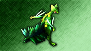 Sceptile Wallpaper by Glench