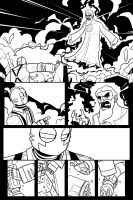 Atomic Robo vs Rasputin Page 2 by Finfrock
