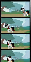 My first Comic - My first Stalker by DayDreamSyndrom