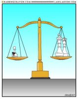 Equalizer Cartoon by Conservatoons