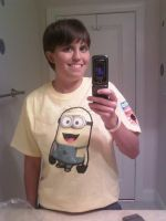 Minion Shirt by General-Skarr