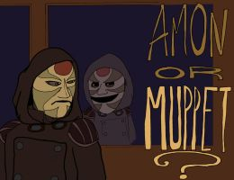 Amon or Muppet? by Bleu-Ninja