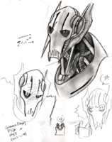 GRIEVOUS sketchies again by theREDspy