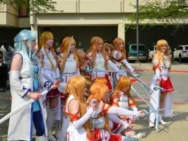 Sword Art Online - Asuna - ACen 2013 by EndOfGreatness
