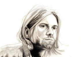 Kurt Cobain by FoxInShadow