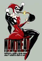 Harley Queen Color by manohead