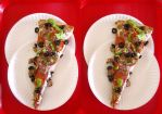 Stereograph - Pizza by alanbecker