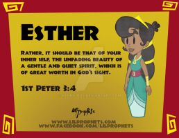 Esther Poster by Kenny-boy
