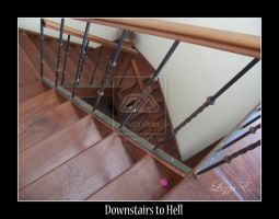 Downstairs to Hell by Lizkiz