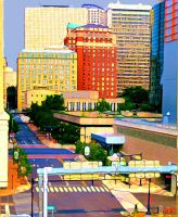 Painted Hartford on a Saturday by Moon-Willow