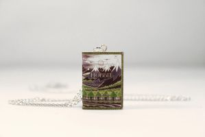 The Hobbit Miniature Book Necklace by Saint-Rise