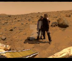 Mars honeymoon by Morano