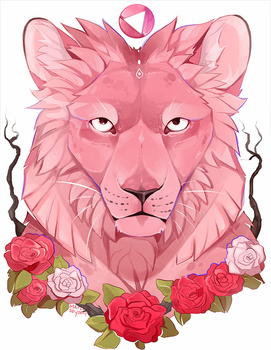 Lion [Speedpaint] by MapleSpyder