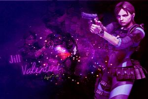 Jill Valentine ((Wallpaper)) by Soraya-Mendez