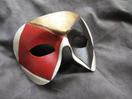 Harlequin Mask by MummersCat