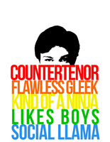 Chris Colfer T-shirt by colfernication