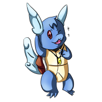 Palaqua the Wartortle by PokemonForeverFan