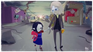 Marceline and Simon by Blindconcept