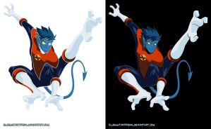 The Incredible Nightcrawler by Bluemutantfreak