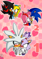 My Top 3 Sonic Ships by AZ-Derped-Unicorn