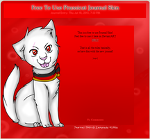 Free to Use Prussicat Journal Skin by 4DAMANT