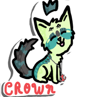 Crown Sticker Giftart by Who-Butt