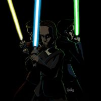 The Jedi Knights by Draw4life