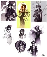 Sketches by Psyche-Evan