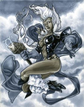 Asgardian Storm by RichardCox
