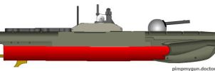 Sea Myth class Unmanned Patrol/Attack Craft