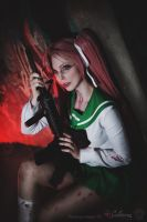 Highschool of the Dead - Saya Takagi II by Calssara