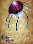 Endless Realms bestiary - Giant Jellyfish by jocarra