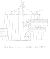 All Dugs Go to Heaven Sketch by Charleston-and-Itchy