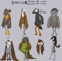 Bird adopts 2 [ONLY 1 LEFT] by Kolala-Bear