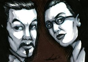 Charlie Chan and Mr. Moto by Marker-Mistress