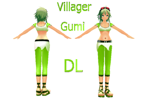 Villager Gumi by Jalmod