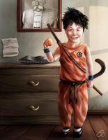 Dragon Ball - Little Goku by EricHenrique