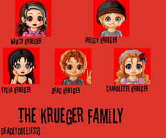 Daddy- The Krueger Family by Deadlydollies13