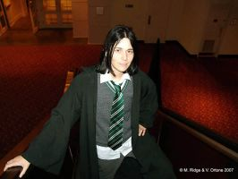 young Severus... smiling?? by brewing-trouble