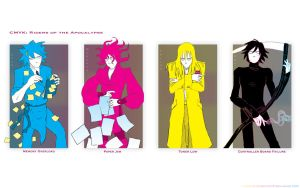 CMYK: Riders of the Apocalypse by Murklins