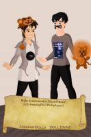 Dan and Phil! by AlchemistEternal