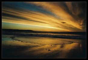 Sunset at McHaffies Point 3 by wildplaces