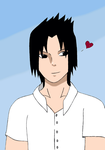 Sasuke:School Boy by NarutoSecretHope
