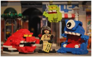 LEGO Ghostbusters - Kenner ghosts by McMuth